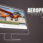 Site internet de Aeroprakt par Joli Projet