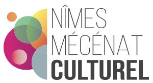 Logo de Nîmes Mécénat Culturel client Joli Projet