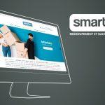 Site internet de Smarteo par Joli Projet